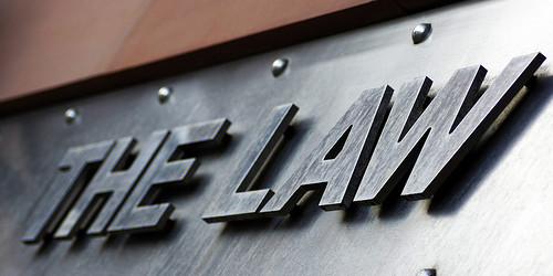 Duff Law Practice Areas Sign